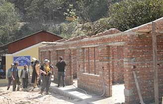 Kalinchowk - a brand new building